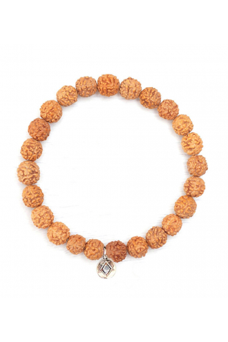 Eternal Om Japa Mala Bracelet for yoga and meditation