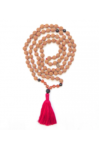 Agni Japa Mala para yoga y meditación de Mukhas Collection