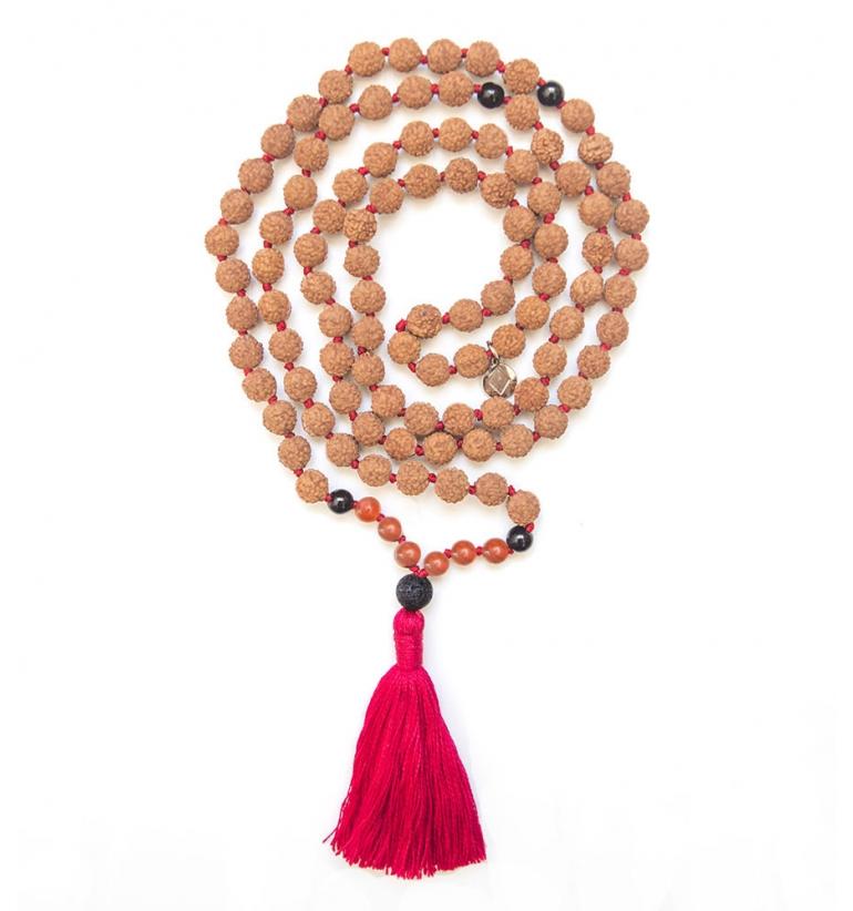 Agni Japa Mala para yoga y meditación de Mukhas Collection