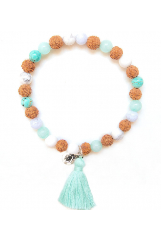 Mermaid Bracelet Authentic Mala Bead of Mukhas Collection