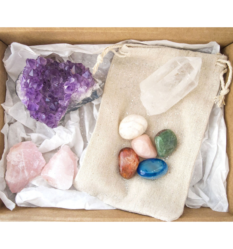 Gemotherapy Stone Pack for Feng Shui of Mukhas Collection