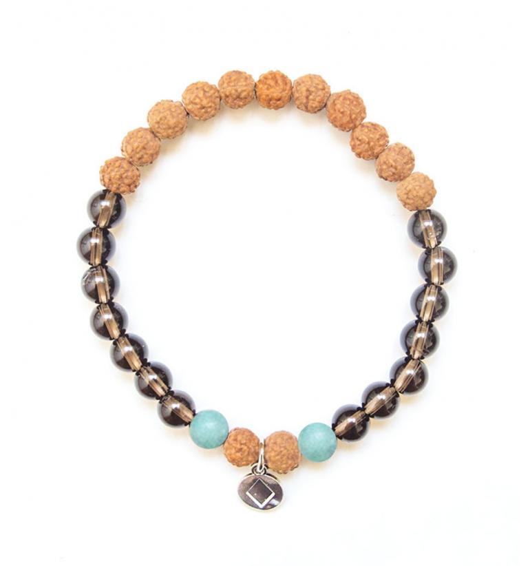 I Feel Positive Bracelet for yoga and meditation of Mukhas