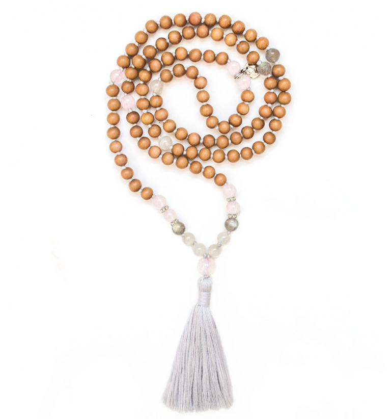 Mangata Mala with Sandalwood and authentic gemstones of Mukhas