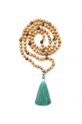 Talisman: Abundance Mala with Natural Gemstones