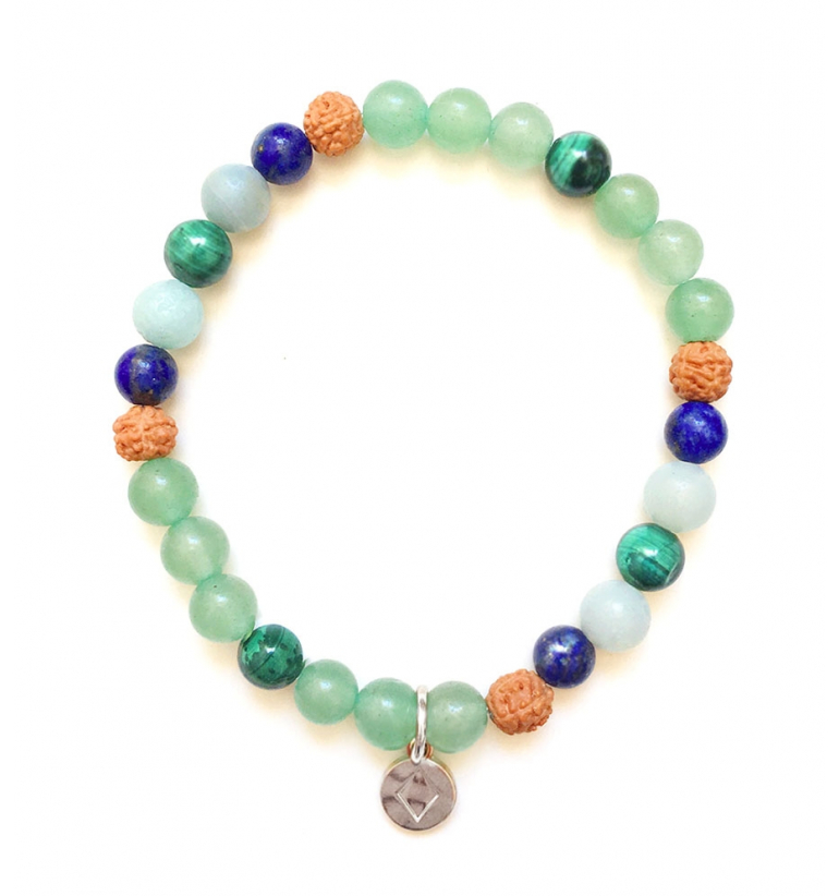 Earth Insight Pulsera con Piedras Naturales de Mukhas Collection