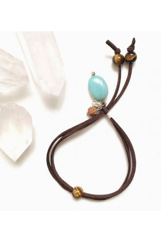 Eclipse Amazonite Bracelet