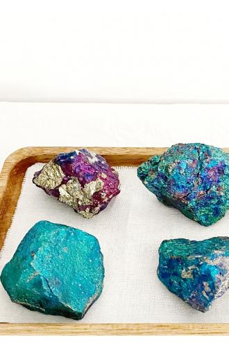 Iridescent Chalcopyrite