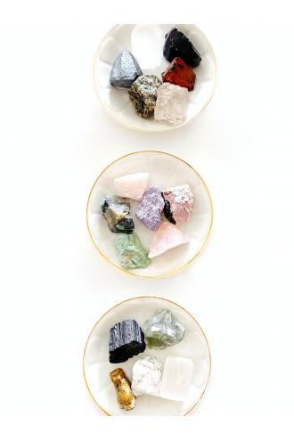 Cajita de Gemas variadas en bruto
