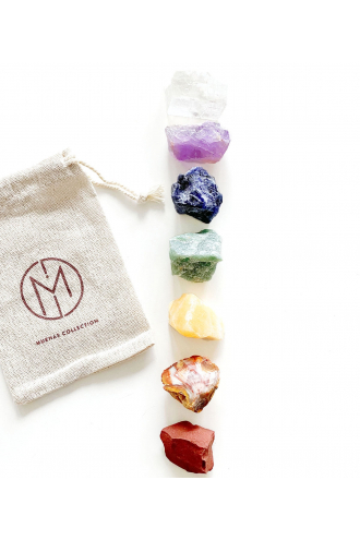 Seven Chakras Gemstones of Mukhas Collection